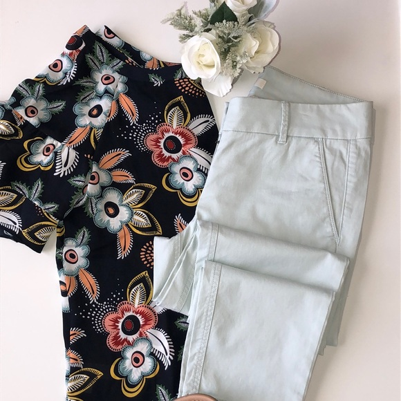 LOFT Pants - Ann Taylor Loft Marisa Light Mint Pant